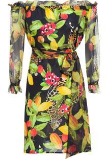 Vestido Frufru - Preto