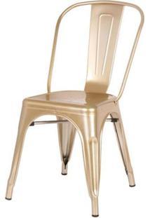 Cadeira Iron Tolix Dourado - 44593 Sun House