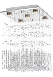 Plafon Lavine Gu10 Inox Polido