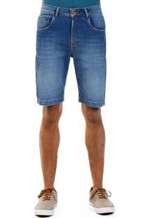Bermuda Docthos Jeans Middle Moletom 164 Jeans Medio 36 Azul - Kanui