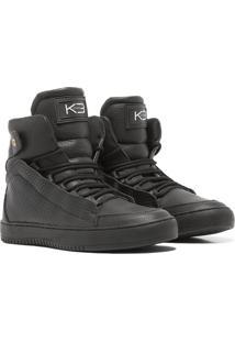 Sneaker K3 Fitness Confort Preto