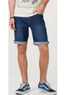 Bermuda Jeans Masculina Tradicional
