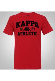 c0f2ef9fa2 Camiseta Kappa Rhasos 3.0 - Masculina - Vermelho