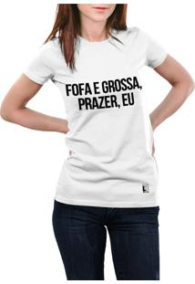 Camiseta Hunter Fofa E Grossa Branca