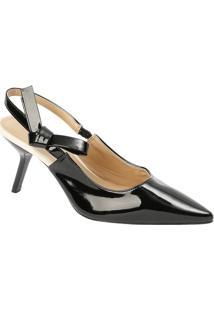 2127a599a Sapato Chanel Com Laço - Preto - Salto: 9,5Cmle Lis Blanc