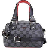 55f242b78 Bolsa Gash Mini Bag Monograma Mickey Alça Transversal Feminina - Feminino -Preto