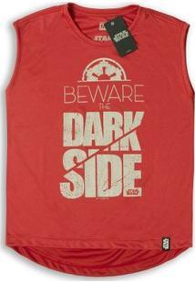 Camiseta Feminina Dry Fit Star Wars Beware The Dark Side - Feminino