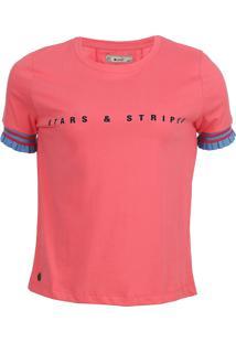 Camiseta Seeder Feminina Rosa - Kanui