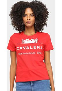 Camiseta Cavalera Logo Águia Feminina - Feminino