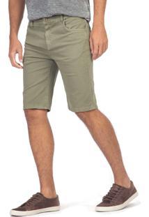 Bermuda Jeans Color Tinturada Vd Mil Vd Mil/48 - Kanui
