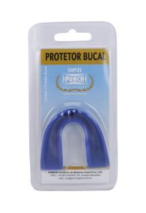 Protetor Bucal Punch Protector Fight - Adulto - Azul