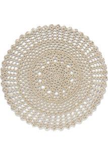 Jogo Americano Em Crochet Circular Maragogi