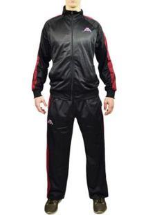 Agasalho Kappa Sportswear Tiziano Elanca Masculino - Masculino-Preto
