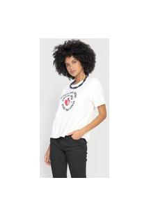 Camiseta Cantão Amor Off-White