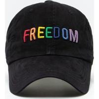 Boné Freedom Arco-Íris bc6463767b32d