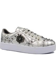 0787377e717 Tênis Zariff Shoes Flatform Casual Pedras