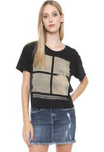 Camiseta Calvin Klein Jeans My Choice Preta