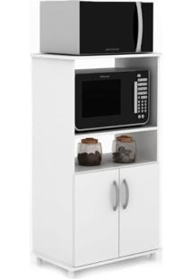Gabinete Para Microondas Laura 2 Pt Branco