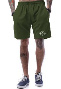 Bermuda Tactel Ezok Hit It Verde Militar