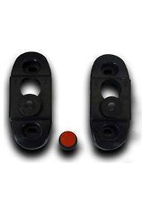 Suporte Fixo De Parede Universal Em Plástico Pp Para Tvs E Monitores 10 A 70 Polegadas
