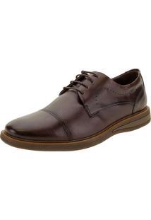 Sapato Masculino Metropolitan Bay Democrata - 273101 Café 38