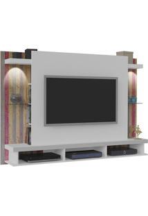 Painel Suspenso Para Tv Maximus Branco / Antique