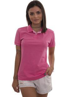 4cf3f6fe17 Polo Feminina Lagoon Rosa Pink Tigs 5409A - Gg