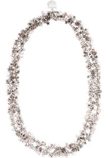 Miu Miu Stars Chain Necklace - Metálico