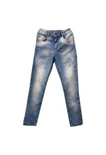Calça Infantil Masculina Jeans Slim