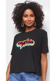 Camiseta Cantão Rainbow Feminina - Feminino