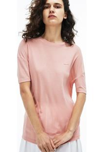 Camiseta Lacoste Rosa