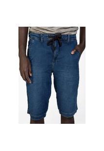Bermuda Masculina Jeans Stone