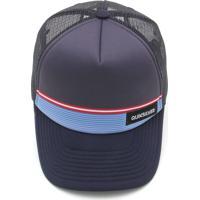 Boné Quiksilver Stripe Stare Azul Marinho f0cd278f1ad