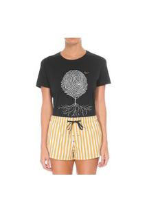 Camiseta Forseti Confort Digital Preta