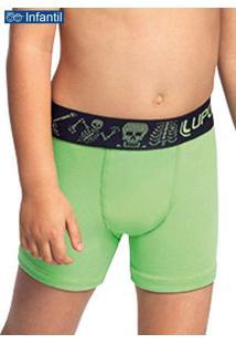 Cueca Boxer Lupinho 151-006 Infantil 4425-Maçã-Ver