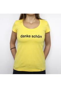 Danke - Camiseta Clássica Feminina