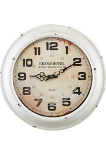 Relógio De Parede Mart Parede Branco
