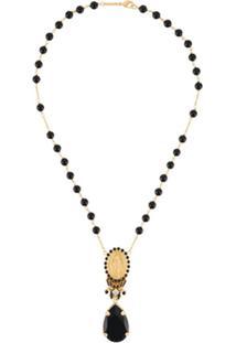 Dolce & Gabbana Votive Pendant Necklace - Dourado