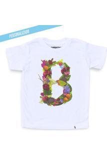Carmen Alphabet Personalizada - Camiseta Clássica Infantil