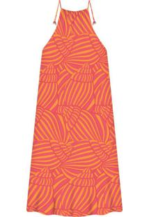 Vestido Mídi Estampa Shell - Lez A Lez