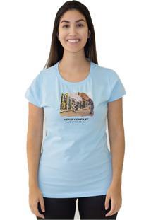 Camiseta Manga Curta Verse Limited Company Azul
