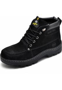 Bota Adventure Em Couro Sb Shoes Preto