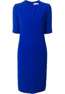 Lanvin Vestido 'Gitane' De Seda - Azul