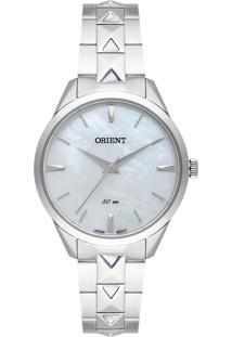 Relógio Orient Eternal Feminino Analógico Fbss0096 Prata