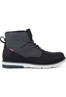 Bota Levi'S Work Boots Jax Masculina - Masculino-Preto