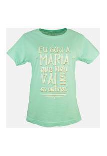 T-Shirt Maria Verde