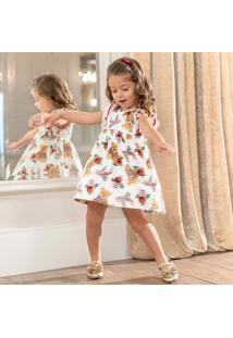 Vestido Infantil Milon Malha Trabalhada 11899.40076.P