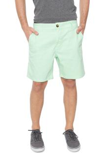 Bermuda Sarja Coca-Cola Jeans Chino Color Verde