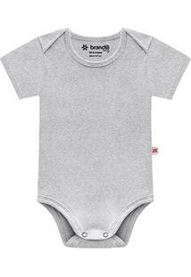 Body Infantil Brandili Cotton Masculino - Masculino-Mescla
