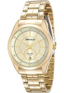 Relógio Analógico Seculus 20518Lpsvda1 Mulher - Feminino